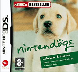 Nintendogs: Labrador & Friends DSi and DS Lite Cover Art