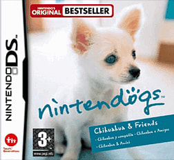 Nintendogs: Chihuahua DSi and DS Lite Cover Art