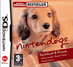 Nintendogs Dachshund and Friends DSi and DS Lite Cover Art