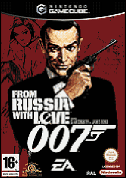 James Bond 007: From Russia With Love GameCube Cover Art