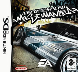 Need For Speed Most Wanted DSi and DS Lite Cover Art