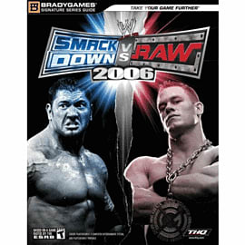 WWE Smackdown vs Raw! 2006 Strategy Guide Strategy Guides and Books