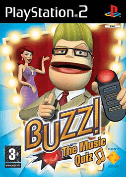 Buzz! The Music Quiz with 4 Buzzers PlayStation 2
