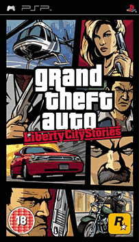 Grand Theft Auto: Liberty City Stories PSP Cover Art