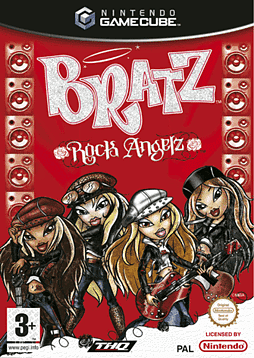 Bratz: Rock Angelz GameCube Cover Art