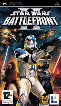 Star Wars Battlefront II PSP Cover Art
