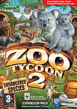 Zoo Tycoon 2: Endangered Species Expansion PC Games and Downloads Cover Art