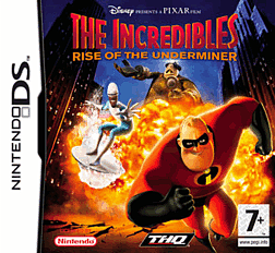 The Incredibles: Rise of the Underminer DSi and DS Lite