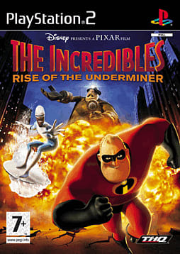 The Incredibles: Rise of the Underminer PlayStation 2