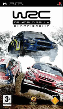 WRC: World Rally Championship PSP Cover Art