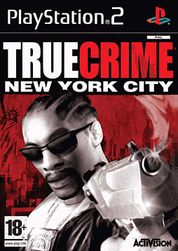 True Crime: New York City PlayStation 2 Cover Art