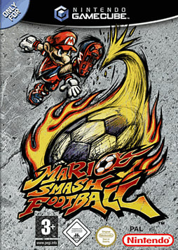Mario Smash Football GameCube Cover Art