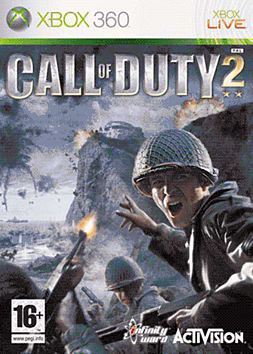 Call of Duty 2 Xbox 360 Cover Art