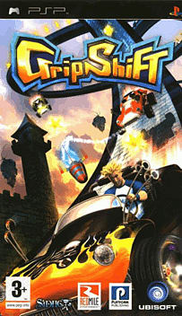 Gripshift PSP Cover Art