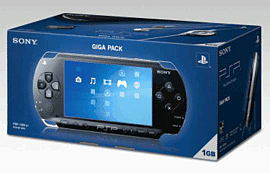 Sony PSP Giga Pack with World Tour Soccer and Wipeout Pure PSP 