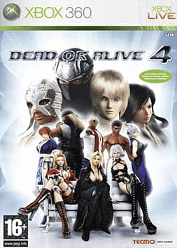 Dead or Alive 4 Xbox 360 Cover Art