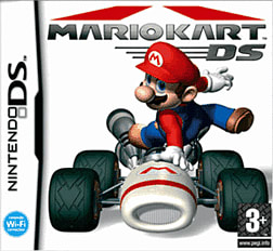 Mario Kart DS DSi and DS Lite Cover Art