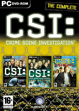 The Complete CSI: Crime Scene Investigation PC Games and Downloads Cover Art