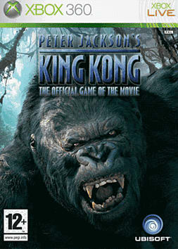 Peter Jackson's King Kong Xbox 360 Cover Art