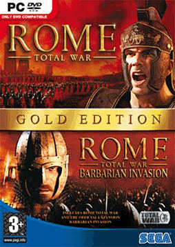 Rome: Total War - Gold Edition PC Games and Downloads Cover Art