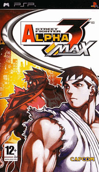 Street Fighter Alpha 3 Max PSP Cover Art