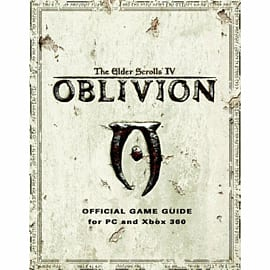 The Elder Scrolls IV: Oblivion Strategy Guide Strategy Guides and Books
