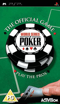 World Series of Poker PSP Cover Art