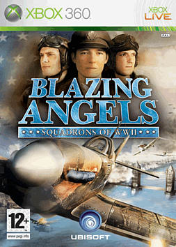 Blazing Angels: Squadrons of World War II Xbox 360 Cover Art