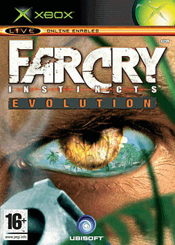 Far Cry Instincts: Evolution Xbox Cover Art