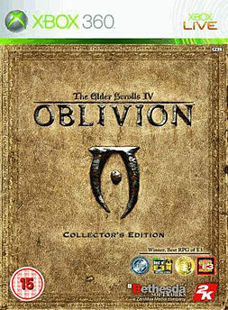 The Elder Scrolls IV: Oblivion Collector's Edition Xbox 360 Cover Art