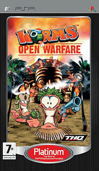 Worms Open Warfare Platinum PSP