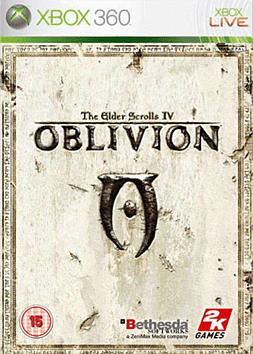 The Elder Scrolls IV: Oblivion Xbox 360 Cover Art