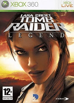 Lara Croft Tomb Raider: Legend Xbox 360 Cover Art