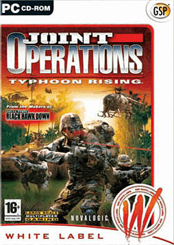 Joint Operations - Typhoon Rising - White Label PC Games and Downloads Cover Art