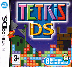 Tetris DS DSi and DS Lite Cover Art