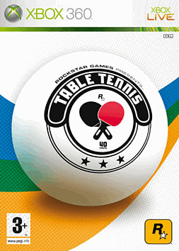 Table Tennis Xbox 360 Cover Art