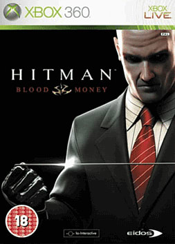 Hitman: Blood Money Xbox 360 Cover Art