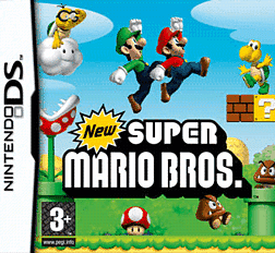 New Super Mario Bros. DSi and DS Lite Cover Art