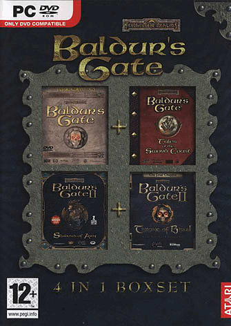 Baldur's Gate on PC, GameCube and PS2 at GAME