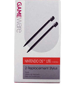 GAMEware Stylus Black for DS Lite Accessories 