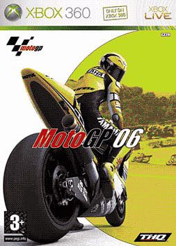 MotoGP 06 Xbox 360 Cover Art
