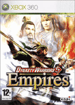 Dynasty Warriors 5: Empires Xbox 360 Cover Art