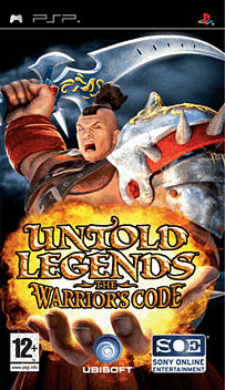 Untold Legends: The Warrior's Code PSP Cover Art