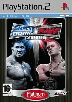 WWE Smackdown! vs RAW 2006 Platinum PlayStation 2 Cover Art