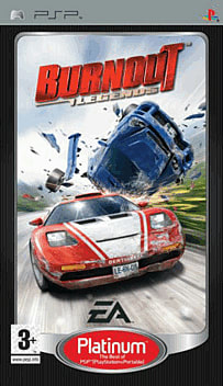 Burnout Legends - Platinum PSP Cover Art
