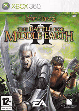 Lord of the Rings: The Battle for Middle Earth II Xbox 360 Cover Art