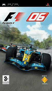 Formula One 06 PSP Cover Art
