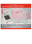 GAMEware Pink Players Pack for DS Lite Accessories