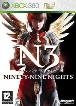 Ninety-Nine Nights Xbox 360 Cover Art