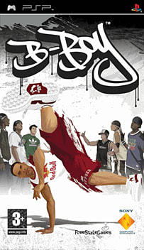 B-Boy PSP Cover Art